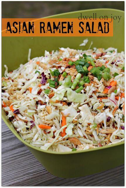 Dwell on Joy: Asian Ramen Salad