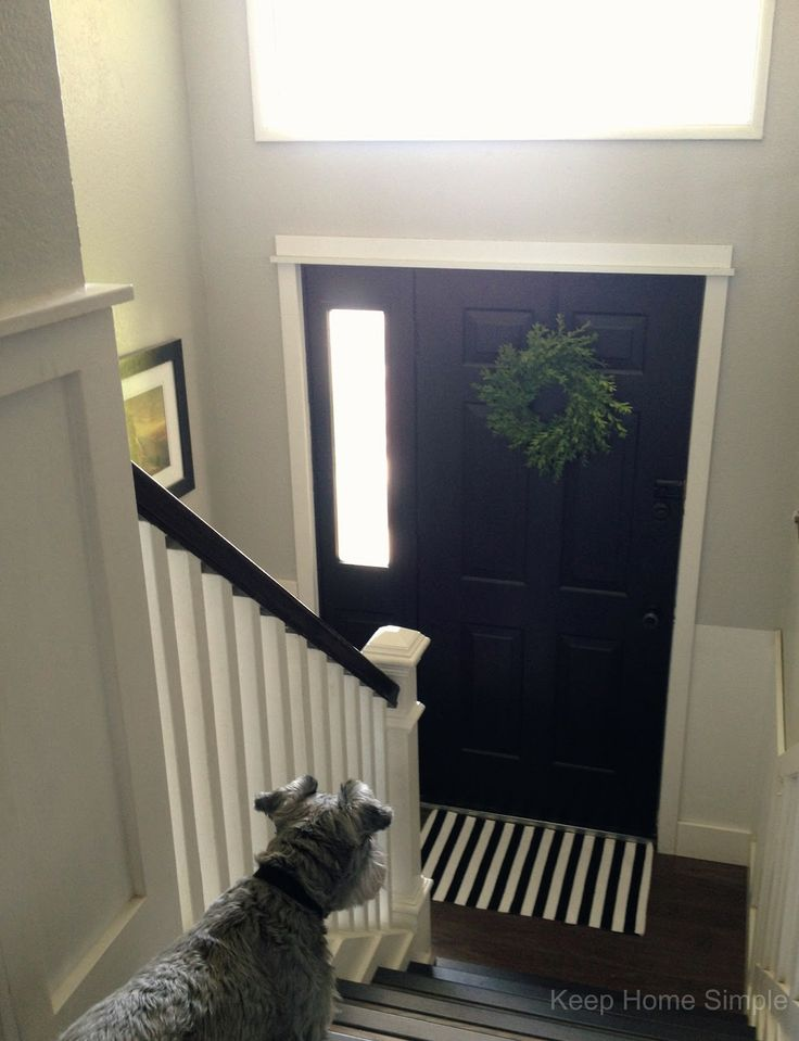 Split Level Entryway Decorating Ideas   Google Search
