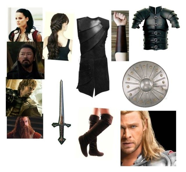 """""""Training with Thor, Sif, and the Warriors 3"""" by ffirnbach ❤ liked on Polyvore"""