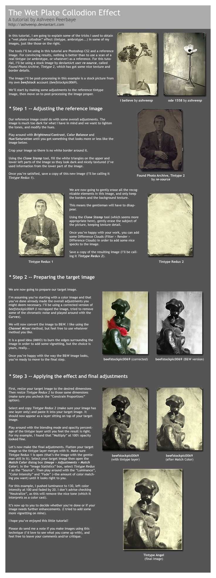 Wet Plate Collodion Effect  by ~beefstock