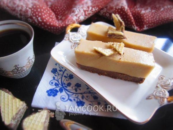 Кофейный торт-суфле