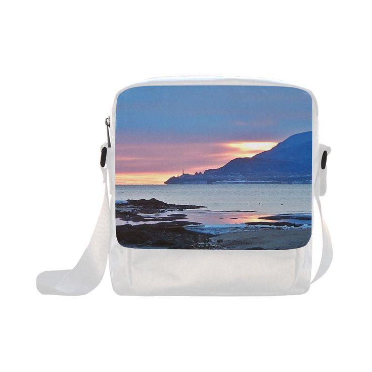 Sunrise in Tourelle Crossbody Nylon Bags (Model 1633)