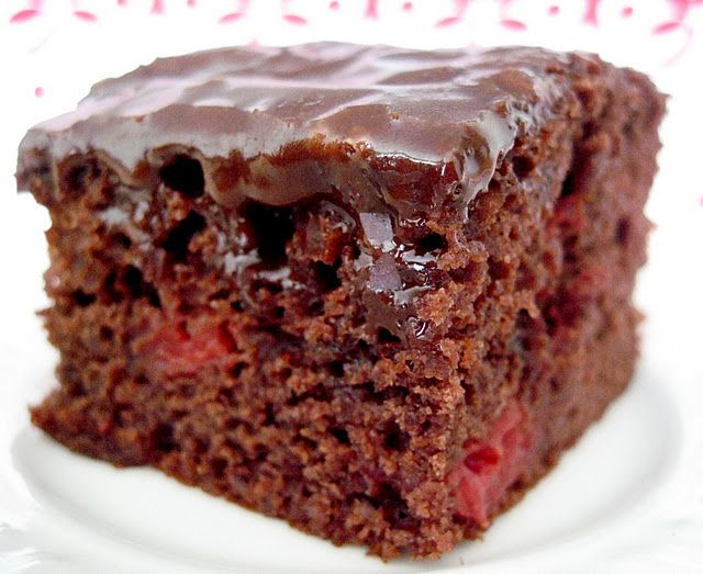 25+ Best Cherry Cake Recipe Ideas On Pinterest