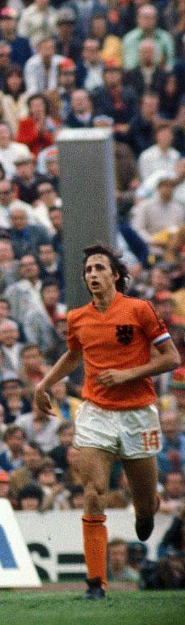 Johan Cruijff : Ajax, Barcelona, Los Angeles Aztecs, Washington Diplomats, Levante, Feyenoord en Oranje.