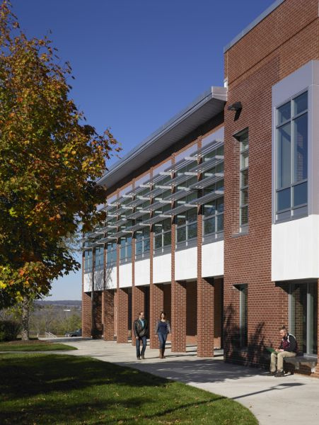 Letchworth Dining Hall project at the State University of New York at Geneseo in Geneseo, NY designed by Clark Patterson Lee