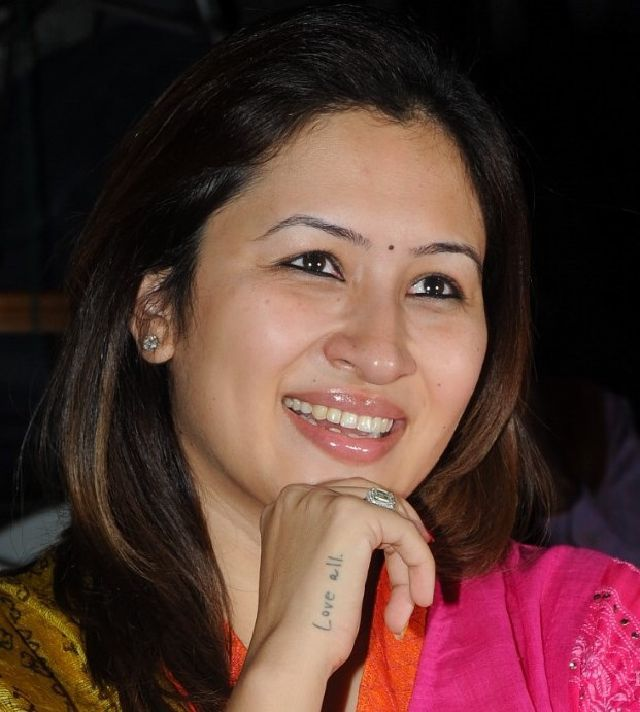 Badminton Player Jwala Gutta Smiling Face Closeup Stills