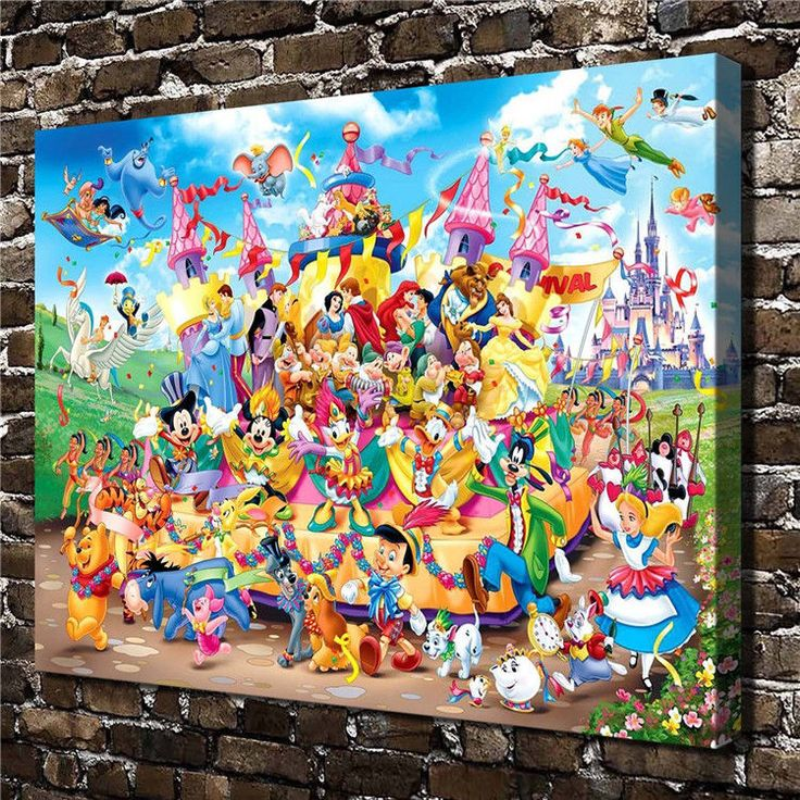 Canvas Hd Picture Print Art Painting Home Decor, Collection #2 12''X16''