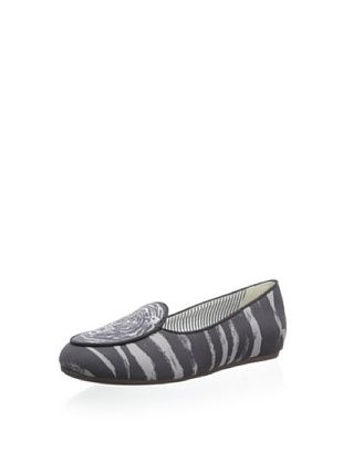 54% OFF Charles Philip Shanghai Women's Olimpia Belgian Loafer (Tiger Grey Black)