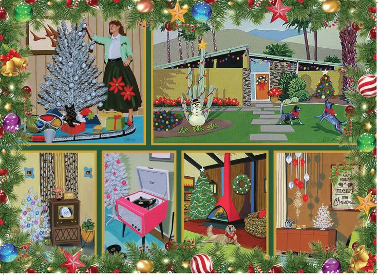 3979 best Christmas  Vintage and Art images on Pinterest