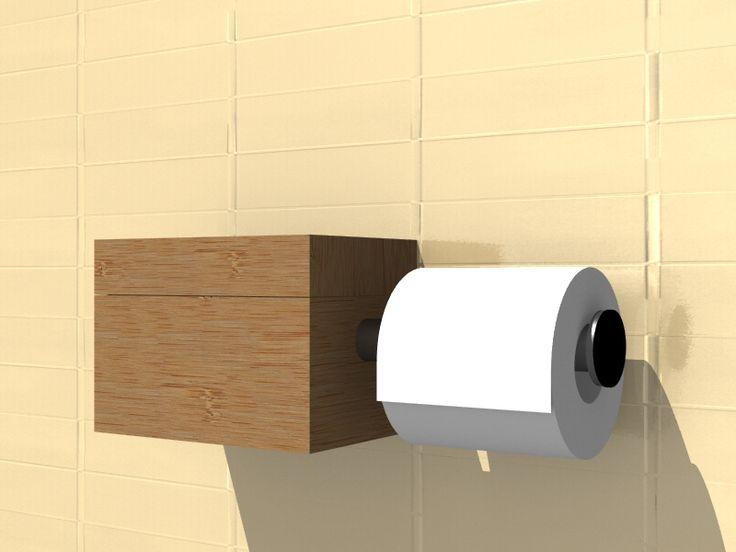 ROLBOX toiletrol houder - RITERRA