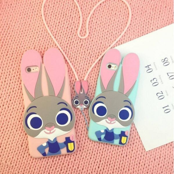"""Cute kawaii bunny iphone case  Use the code """"cherry blossom"""" at www.Sanrense.com for a 10% discount!"""