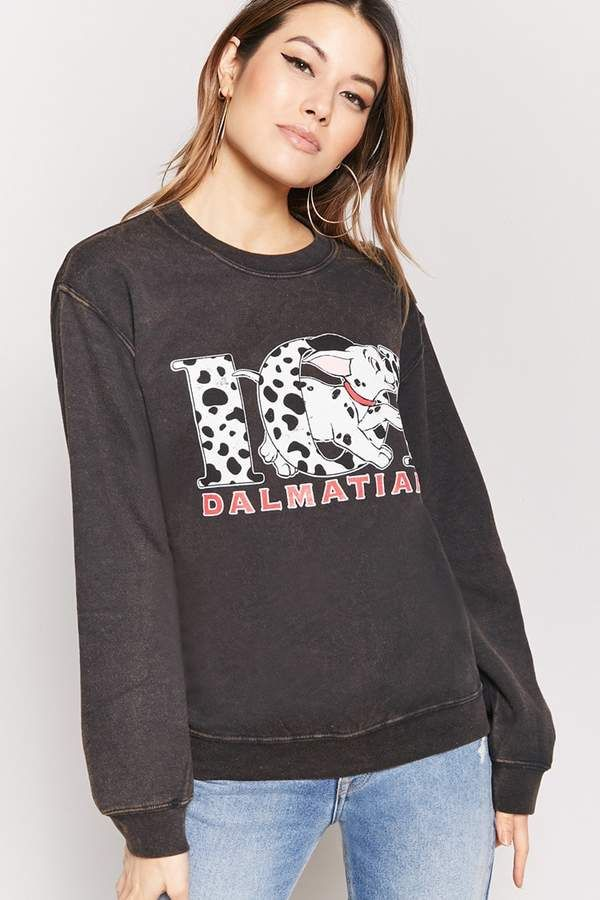 4b95137db28 Forever 21 101 Dalmatians Graphic Sweatshirt
