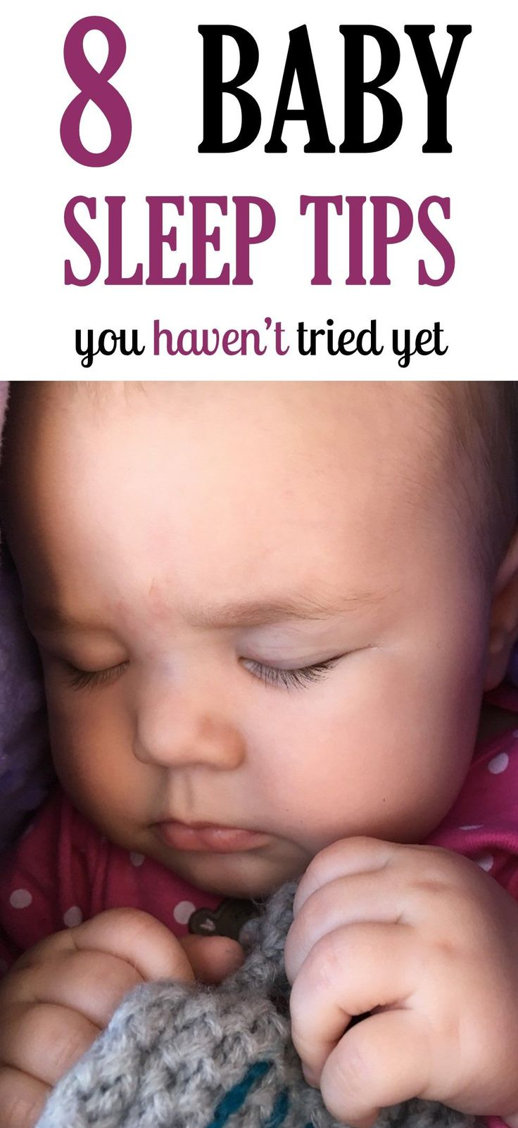 These eight baby sleep tips and products can help…