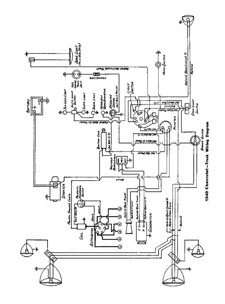 10+ 1951 Chevy Truck Wiring Diagram1951 chevy truck wiring