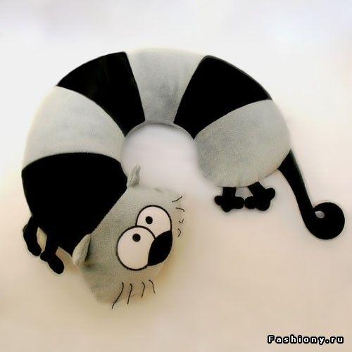 Креативные подушки / подушка под шею выкройка