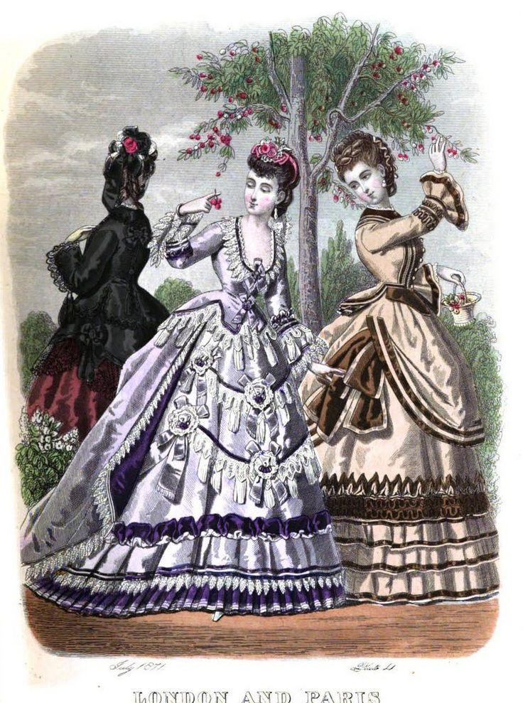 The London and Paris ladies' magazine of fashion 1871
