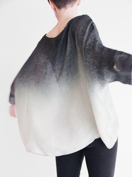 Berenik Silk Pullover - Smokepaper « Pour Porter