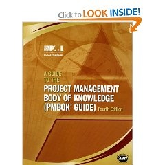 PMBOK Guide 4th Edition of Project Management Institute @Amazon.com