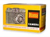 Diana Cameras logo - Toy Camera