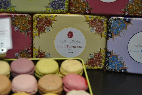 Sweets Paris Macarons in pretty colors and boxes