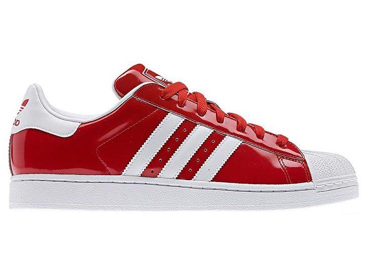 Adidas Originals Superstar Rouge et Blanc Homme/Femme