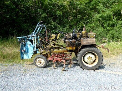 tracteur du vigneron