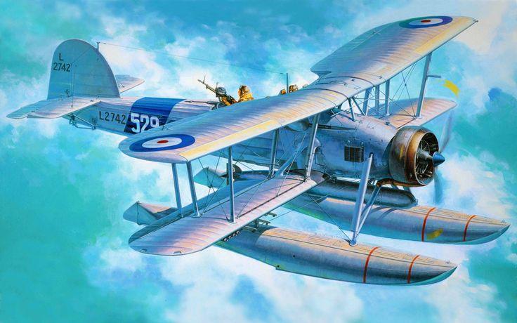Fairey Swordfish Mk I Floatplane (Tamiya box art)