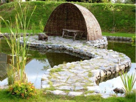 Garden Design With Pond 36 best ponds & watergardens images on pinterest   ponds