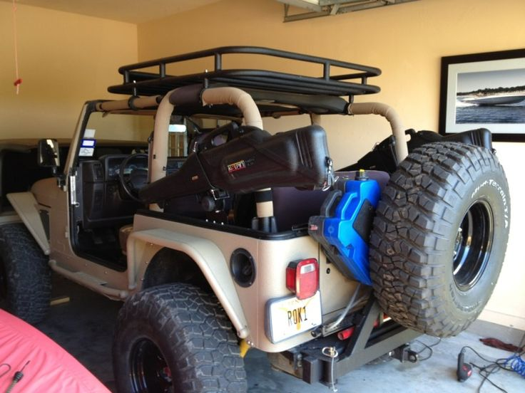 Making A Roof Rack Directly To Tj Cage Jeepforum Com