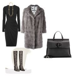 office look by the925editor on Polyvore featuring Michael Kors, Simonetta Ravizza, Gucci and Ben-Amun