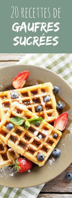 Au chocolat, aux fruits rouges, au sirop d'érable : 20 recettes de gaufres sucrées !