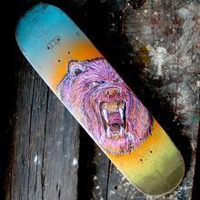Grizzly Bear skateboard art, available for sale @ RadCakes.com #skateboard #skateboarding #grizzlybear #bear #radcakes