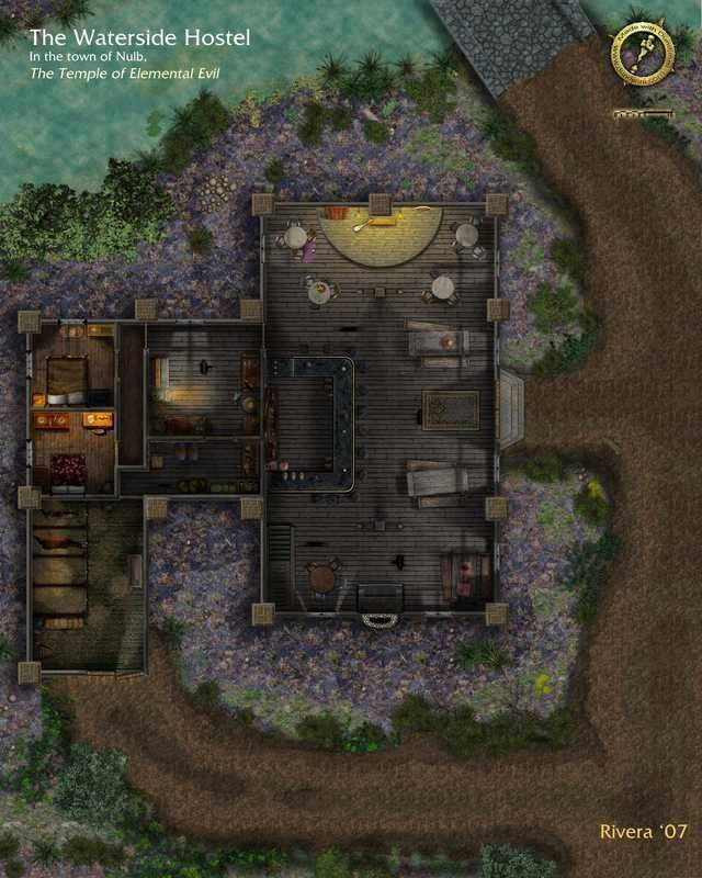 Temple Of Elemental Evil Map : temple, elemental, Saved, Years:, Building, Interiors, Dungeon, Maps,, Fantasy