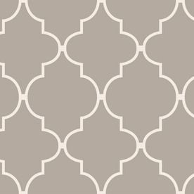 allen + roth Spanish Tile Wallpaper for $21/roll at Lowe's  {so cheap!  use for wall art, perhaps one wall in my laundry room, to cover boxes, etc.}