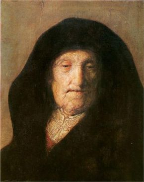 Portrait of Mother of Rembrandt - Rembrandt