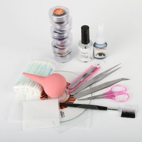 Pro Lady Natural False Eyelash Extension Kit Set Eye Lashes Eyelash Glue Nipper Makeup Cosmetic Lady Tools Hot Gift - http://fulleyelashextensions.com/pro-lady-natural-false-eyelash-extension-kit-set-eye-lashes-eyelash-glue-nipper-makeup-cosmetic-lady-tools-hot-gift-2/