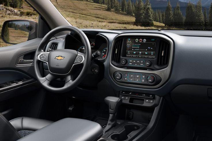2015 Chevrolet Colorado Z71 Interior
