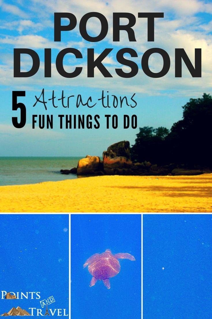 Port Dickson Attractions, Port Dickson Beach,
