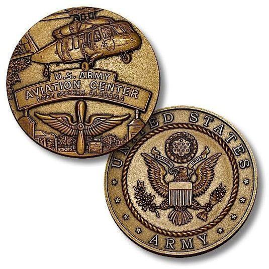 Aviation Center, Fort Rucker Challenge Coin