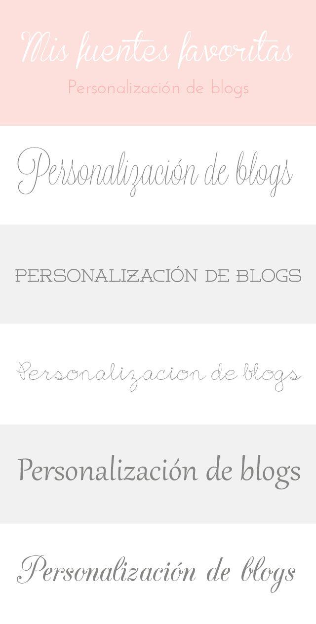 Fuentes gratis | Free fonts