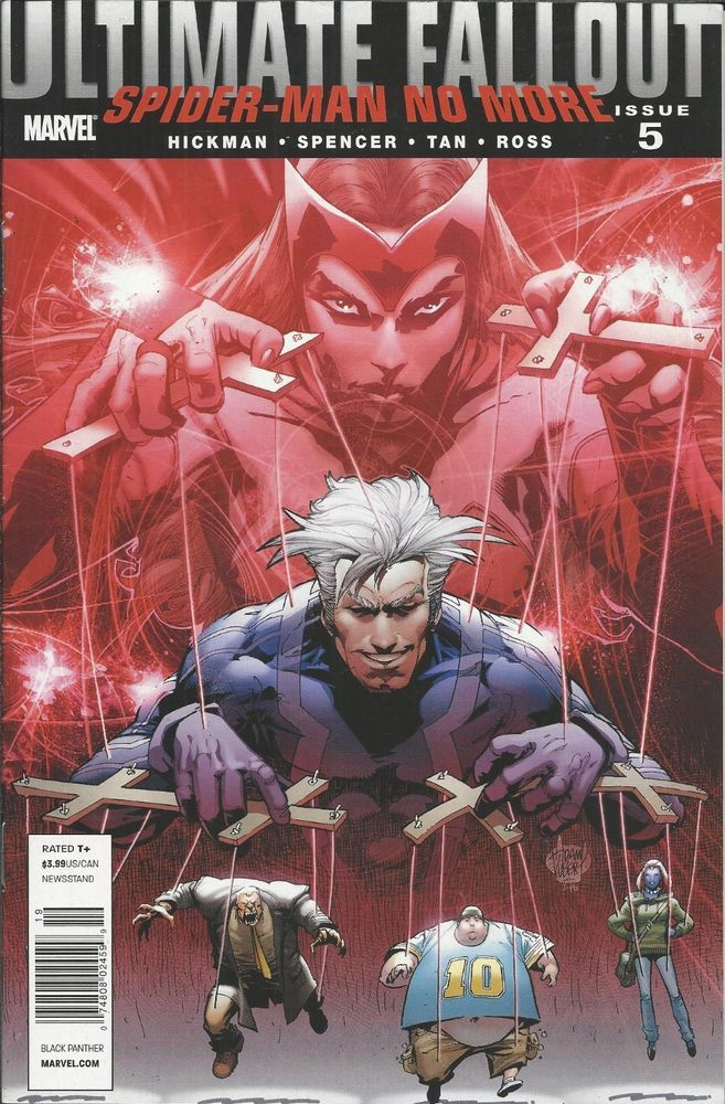 Marvel Ultimate Fallout comic issue 5