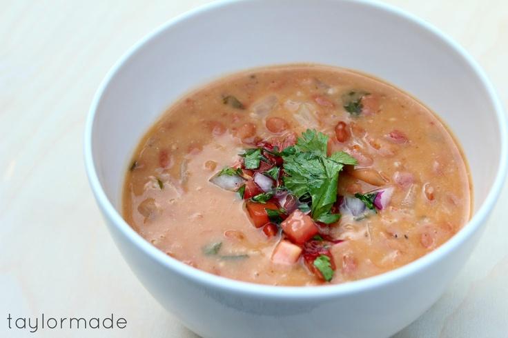 Taylor Made: Borracho Beans - A Recipe