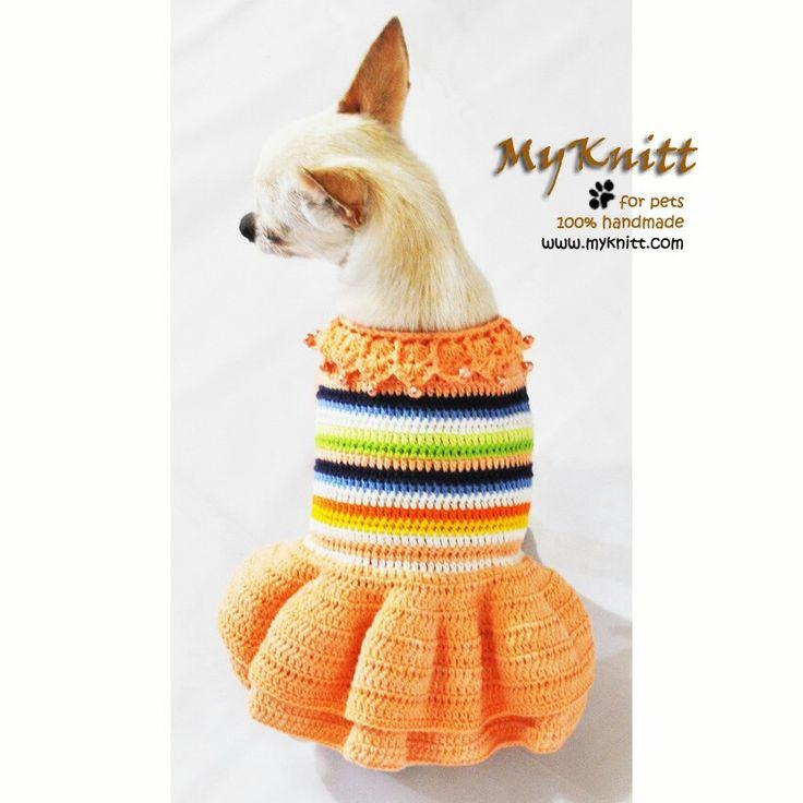 19 best вязанная одежда для собачки images on Pinterest | Dog ...