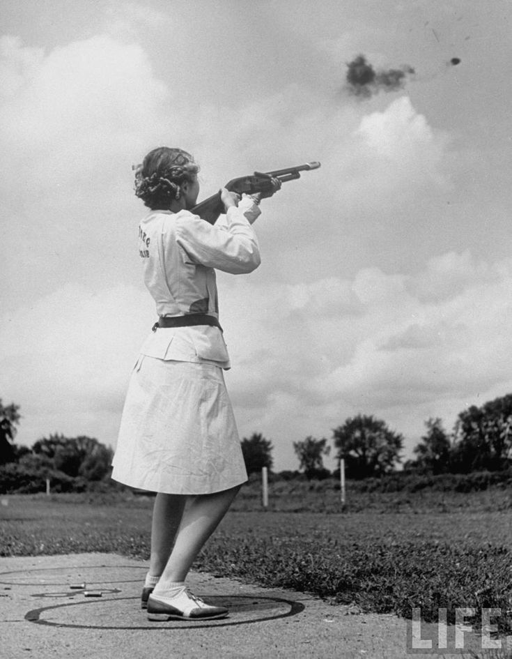 National Women S Skeet Shooting Champion Pat Laursen