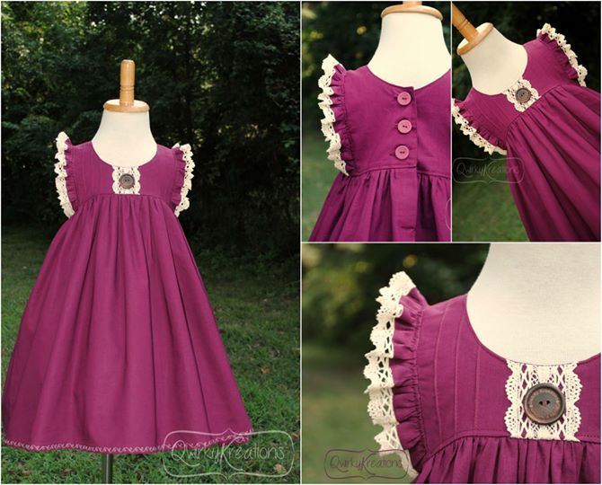 Clara Dress-Violette Field Threads