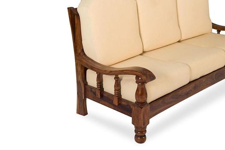 Solid Wood Maharaja Grand Sofa Set Saraf Furniture In 2020 Wooden Sofa Designs Sofa Set Wood Sofa