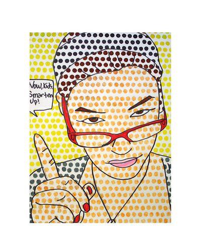 21 best clown art projects images on pinterest art for Ben day dots template