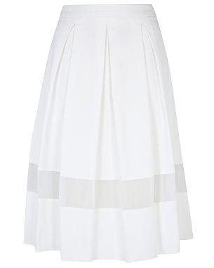 G21 Sheer Panel Skirt