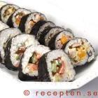 Recept på Sushirullar - Maki sushi