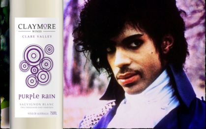 """Prince's signature song Purple Rain came out in 1984 and spent 24 weeks at Number 1 on the Billboard charts. Fans have been trying to work out the meaning of """"purple rain"""" for decades now. This is a generous, full flavoured Sauvignon Blanc with remarkable palate weight for the variety. Fresh and dry, the acid is bright and clean balancing the generous fruit flavours of this season. The wine finishes with lingering grassy notes and hints of pineapple."""